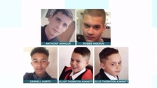 Boy, 15, admits causing deaths of five people in car crash