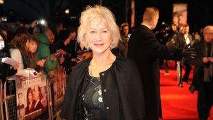 Dame Helen Mirren Bafta