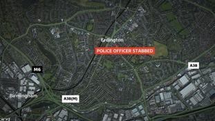 The incident happened in Erdington, Birmingham