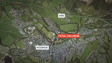 Police appeal after man dies on A66