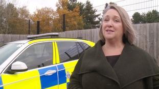 Karen Harris, the specials, volunteers and cadets manager in Suffolk.