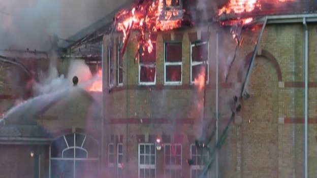 Lytchett Minster School fire