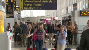More than 1.8 million passengers travelled through the terminal last month.
