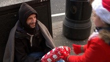 Boy's mission to keep the homeless warm at Christmas