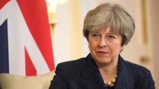 Theresa May wants to begin trade talks.