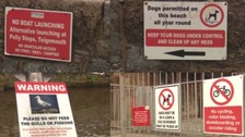 Too many signs? Seaside town of Dawlish accused of being bossy