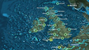 Weather: An icy start followed by sunshine and wintry showers