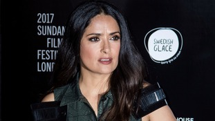 Salma Hayek said the harassment took place while she was filming Frida.