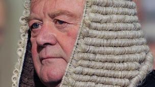 The Justice Secretary Ken Clarke