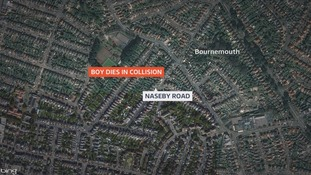 Five year old boy dies after collision in Bournemouth
