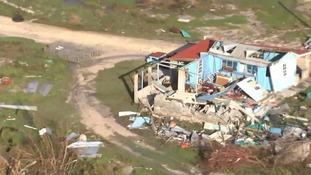 90% of buildings on Barbuda were destroyed.