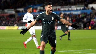Manchester City create history with 15th straight win after hammering Swansea at the Liberty Stadium