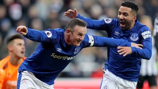 Everton condemn Newcastle to a seventh defeat in eight games after Rooney puts them to the sword at St. James' Park