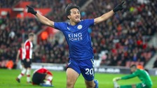 Leicester hit Southampton for four at St.Mary's