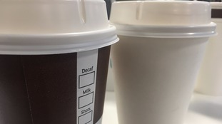 The measure is to deter people from constantly buying single-use cups.