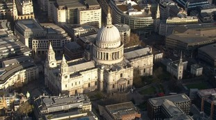 Thursday's service was held at St Paul's Cathedral.