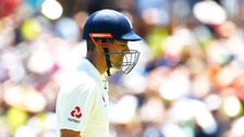 Alastair Cook was dismissed for seven on day one.