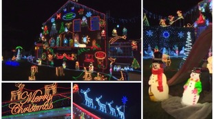 100,000 bulbs later...the Christmas display that will blow you away