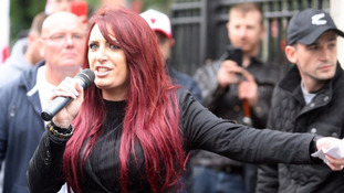 Britain First's Fransen in court on hate speech charges
