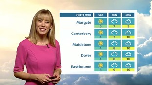 Thursday's evening forecast for the East of the region