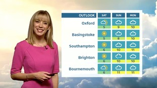 Thursday's evening forecast for the West of the region