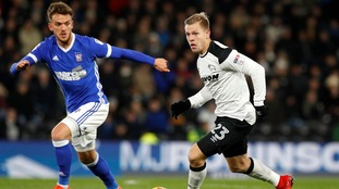 Emyr Huws: Knee injury rules Ipswich Town midfielder out for rest of the season