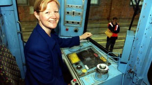 Jean Farrow (pictured in 2001) was one of the first directly recruited female tube drivers