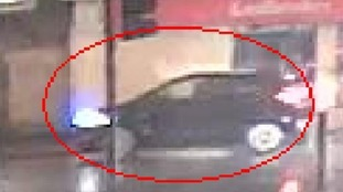 The driver of this black car has been urged to come forward.