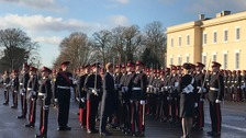 Prince Harry returns to his roots at Sandhurst