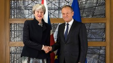 EU leaders approve second stage of Brexit talks