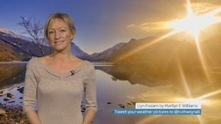 Wales Weather: Bright and breezy but cold!