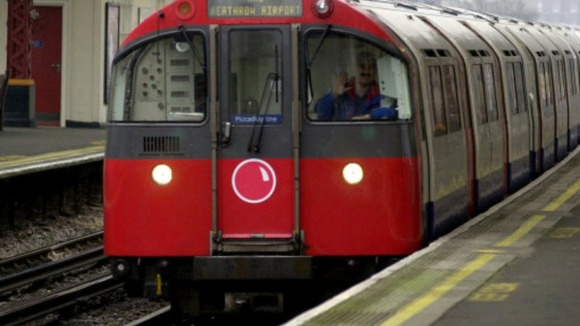 Tube&#x27;s got a red nose: London Underground marks Comic Relief&#x27;s Red Nose Day in 2001