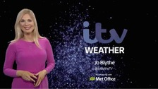 Jo has the latest weather forecast