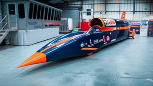 Bloodhound: supersonic car could reach 500mph when it tests out 'the world's fastest race track'
