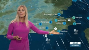 Friday's latest forecast for the east of the region