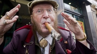 John McCririck was a Channel 4 Racing pundit for 29 years