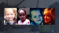 WATCH: Grandfather pays tribute to 'strong little characters' who were killed in a house fire