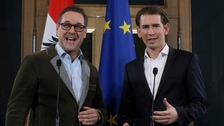 Austria's Sebastian Kurz strikes deal with far-right