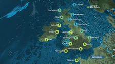 A cold start to the weekend, but milder next week