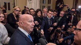 Huge tax bill heads for passage as Republican senators fall in line