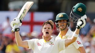 The Ashes: Smith strikes double-century to put England in big trouble