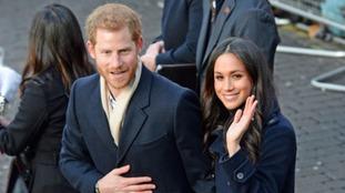 Prince Harry and Meghan Markle visited Nottingham together