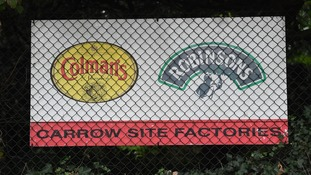Britvic and Unilever, the makers of Colman's Mustard, share a site at Bracondale in Norwich.