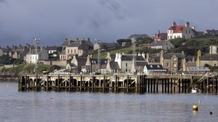 The Orkney island Mainland city Stromness.