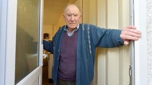 War veteran Harry Higgins had cash stolen from his home