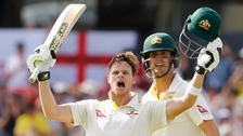 The Ashes: Smith double-century puts England in trouble