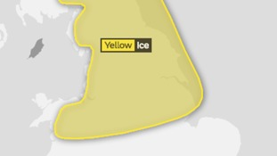 Ice risk overnight into Sunday morning