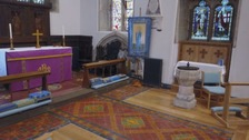 Victorian mosaics discovered at Flintshire church