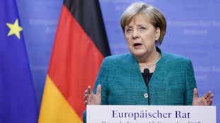 German Chancellor Angela Merkel said the second round of talks will be 'even tougher' to resolve.