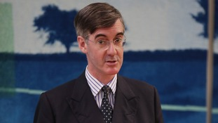 Jacob Rees-Mogg is pushing Mrs May to reject the EU's Brexit guidelines.